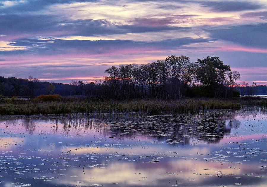 sunrise on the Mississippi by ariseandrejoice