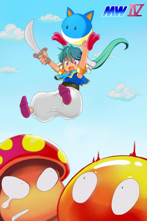 Asha from Monster World IV by Iron Yaya