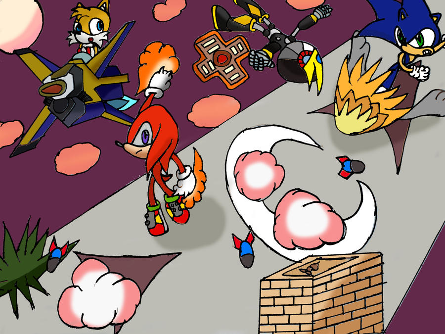 Sonic Generations:Sonic Advance 3 by jules1998 on DeviantArt