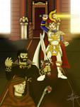 Score of Heroes: Applying Justice - Veld Battle by jules1998
