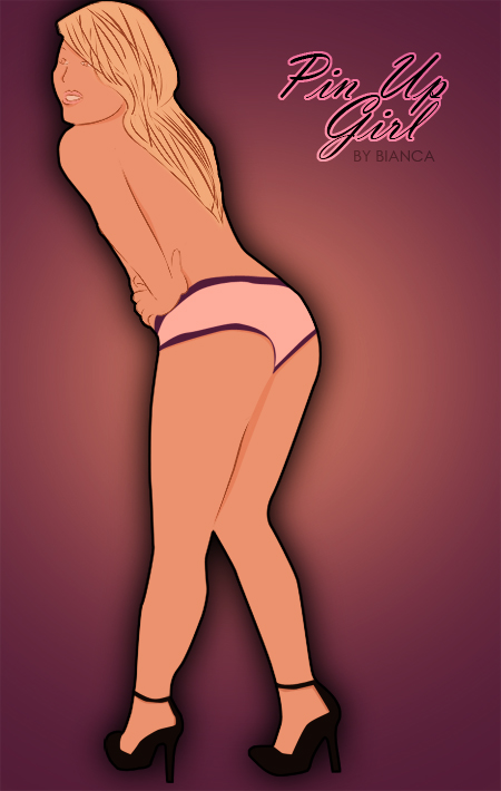 Pin Up Girl 001 by bmary