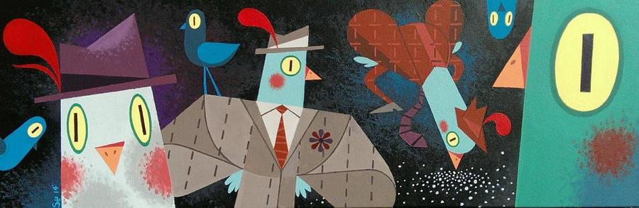 Pigeontlemen by JustinSels