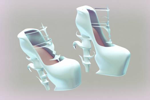 MMD Crystal Heels (Download up!)