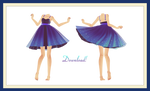 [MMD] Magical Luna Dress Download! (+updated)