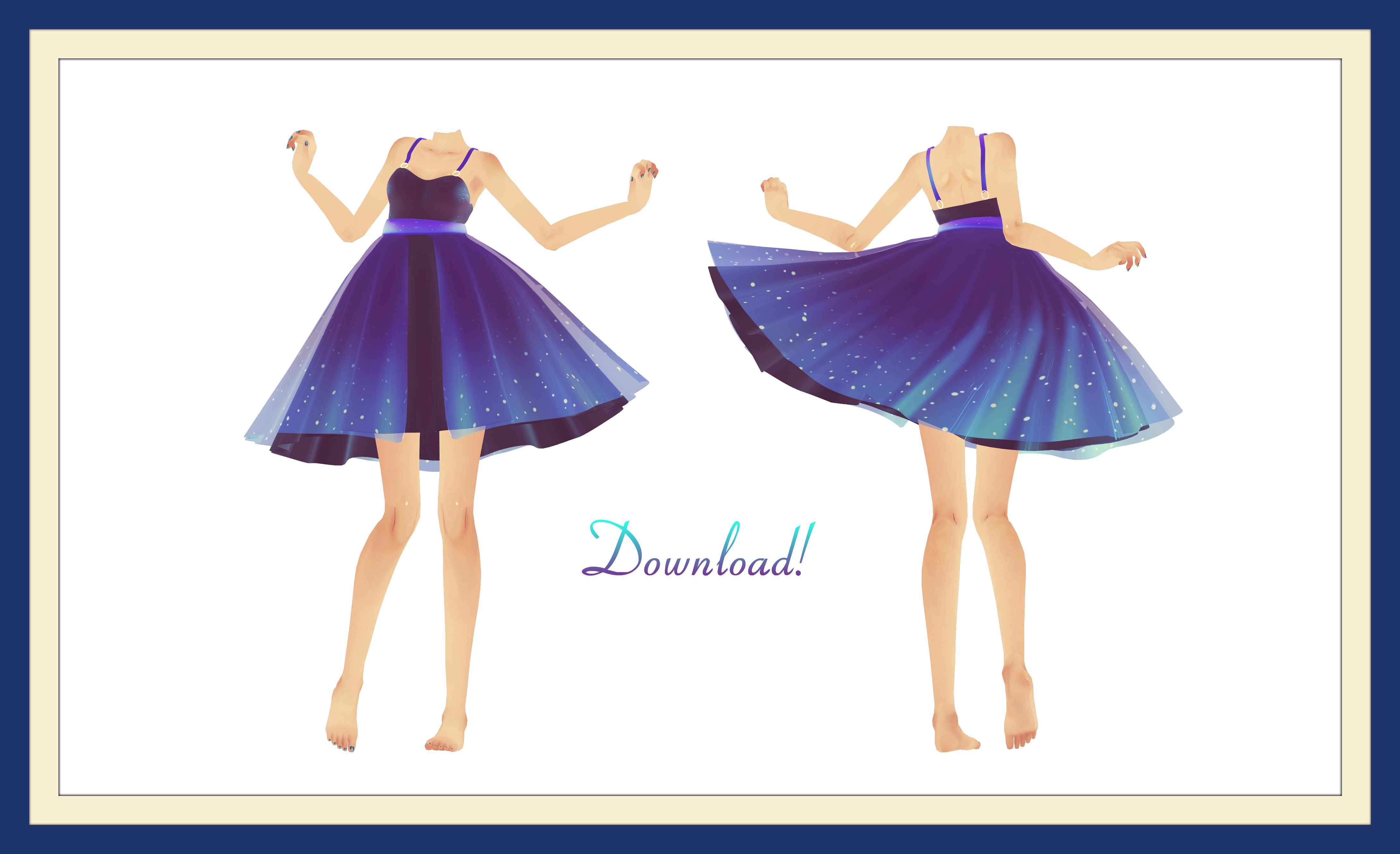 [MMD] Magical Luna Dress Download! (+updated) by AyaneFoxey