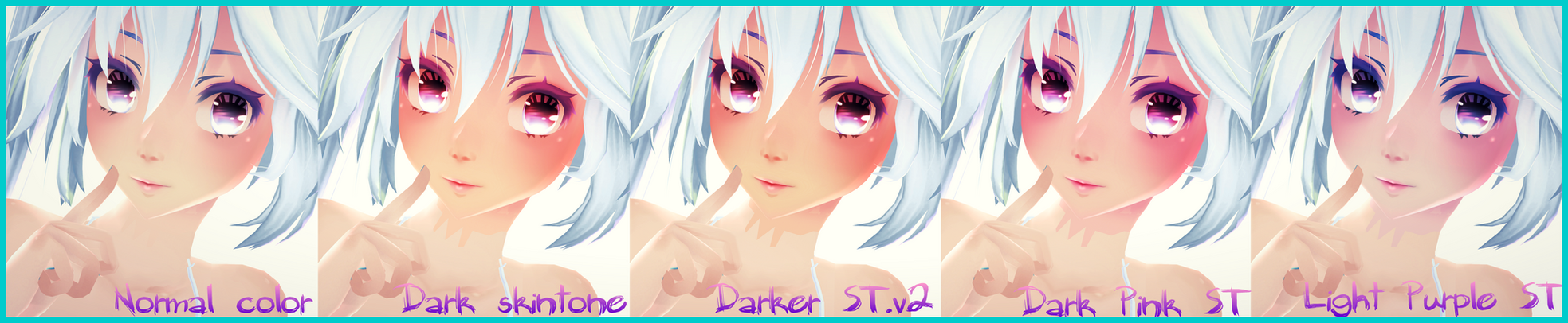 [MMD] TDA Face Texture Pack DOWNLOAD by AyaneFoxey