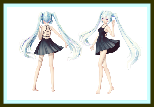 [MMD] Request Contest Dress DOWNLOAD! (Updated)