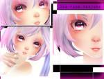 [MMD] TDA Elegant Face Texture Download