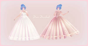 [MMD] Pretty Gown pack [Download available]!
