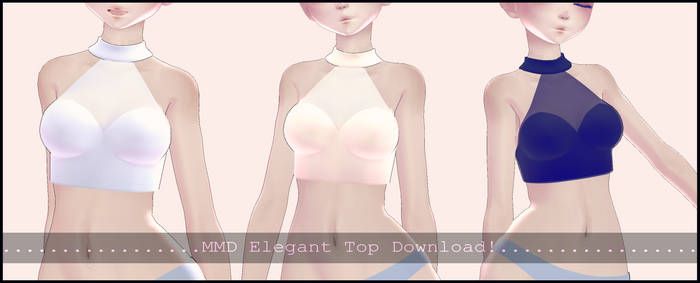 [MMD] Elegant Tops Download!
