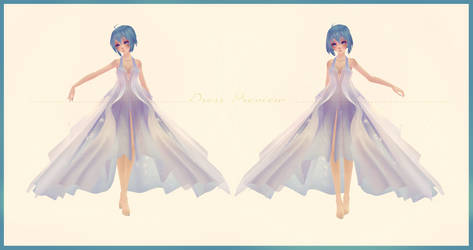 [MMD] Pretty Cosmos Tide Dress Edit Preview (WIP)