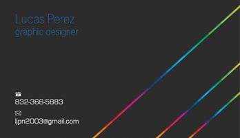 My Personal Business Card by ljpn2003