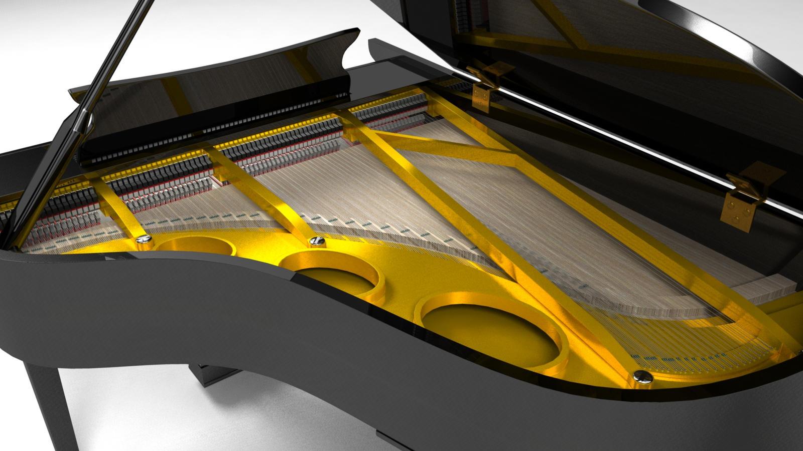 Piano Inside T by AlexandreLandry
