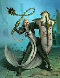 Female Crusader by RMangano