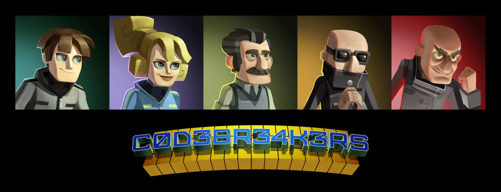 Codebreakerscharacters by RMangano