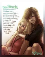 Dear Blondie by DreamerWhit