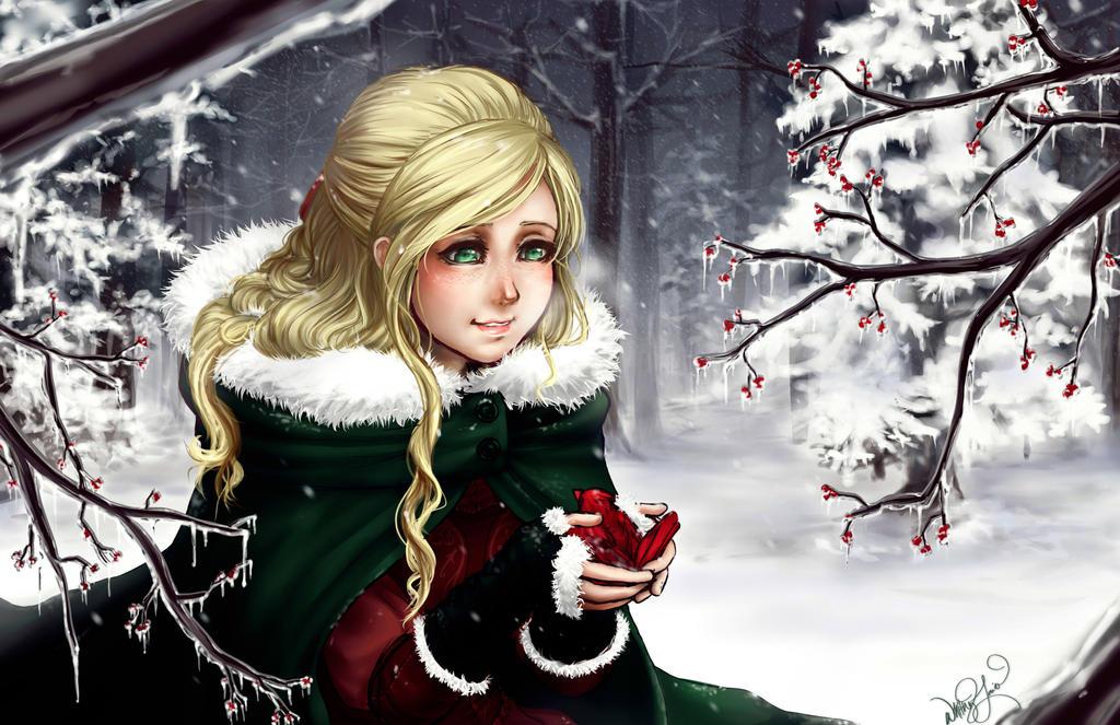 Winter's Warmth by DreamerWhit