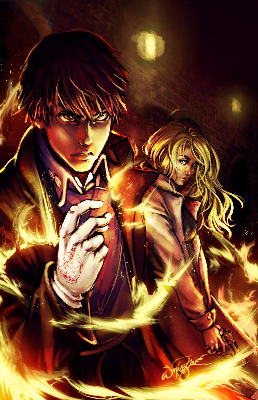 OH SNAP- The Flame Alchemist by DreamerWhit on DeviantArt