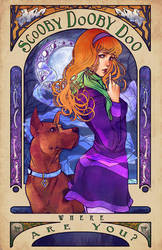 Scooby-Dooby-Mucha by DreamerWhit