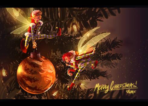 Little Christmas helpers