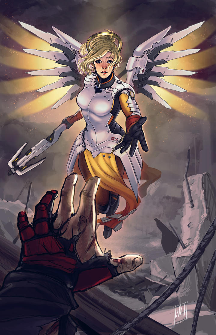 Angel of Mercy by DreamerWhit