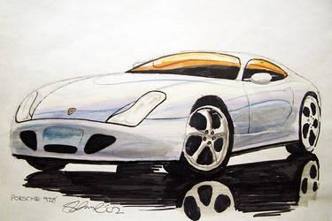 Porsche 928 Concept by gotthefeelin