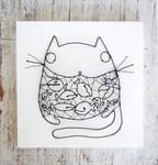 Well-fed housecat