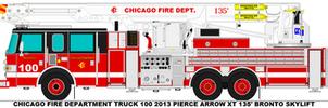 Chicago Fire Dept. Truck 100