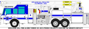 New Acre Vol. Fire-EMS Tower 101