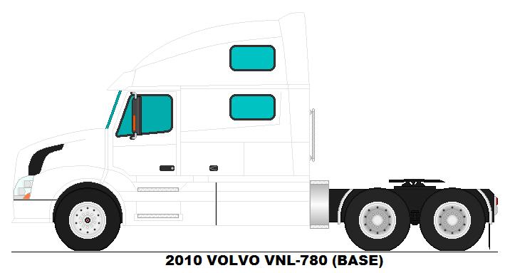 Volvo vnl 780 base by misterpsychopath3001 on deviantart - Volvo vnl wallpaper ...