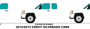 Chevy Silverado cabs