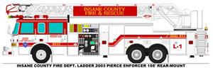 Insane County Fire Dept. Ladder 1