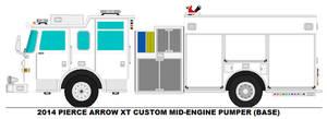 Pierce Arrow XT Mid-Engine pumper base