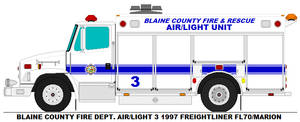 Blaine County Fire Dept. Air/Light 3