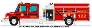 Firefreak Twp. Fire Dept. Engine 122