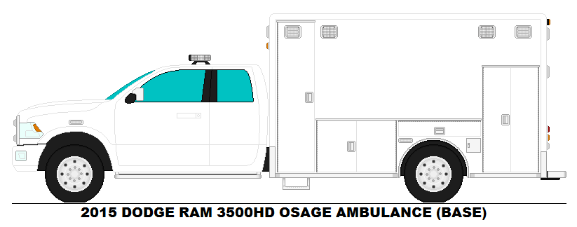 dodge ram 3500hd osage ambulance base by misterpsychopath3001 on deviantart