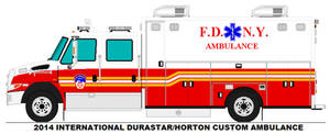 FDNY International Durastar Horton Ambulance