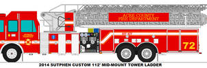 Acre County Fire Dept. Ladder 72