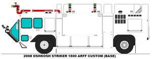 Oshkosh Striker 1500 ARFF base