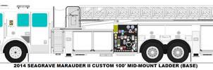 Seagrave Marauder II 100' MM Ladder base