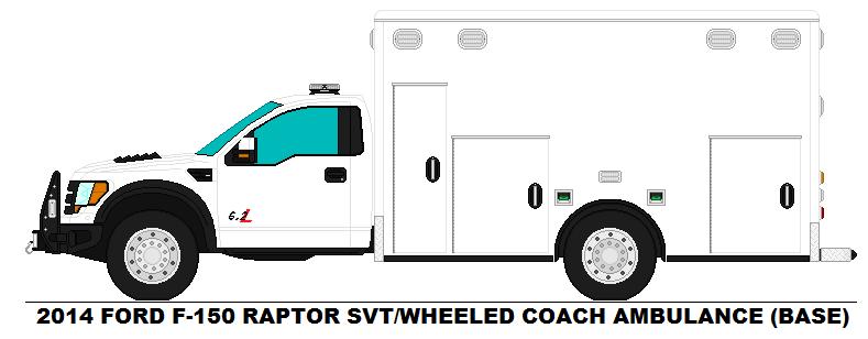 Ford F-150 Raptor SVT WC Ambulance base by ...