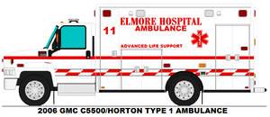 Elmore Hospital Ambulance 11