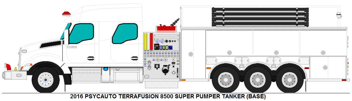 Psycauto Terrafusion 8500 Super Pumper Tanker Base By