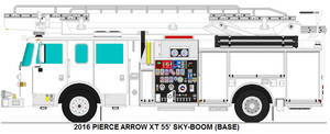 Pierce Arrow XT 55' sky-boom base