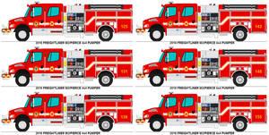 Acre County Fire Dept. 4x4 Pumpers