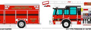 North Fairpont Vol. Fire-EMS trucks