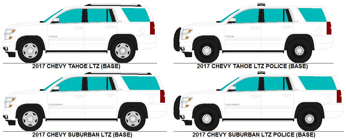 2017 White Chevy Silverado >> Chevy Tahoe Suburban LTZ bases by MisterPSYCHOPATH3001 on DeviantArt