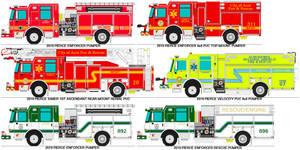 Various fire apparatus