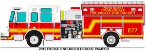 Northeast Psymlasdale Fire Dist. Engine 77