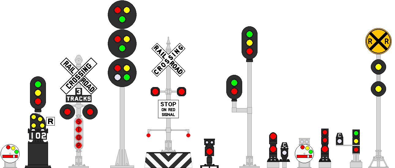 Misc  Railroad signals by MisterPSYCHOPATH3001 on DeviantArt